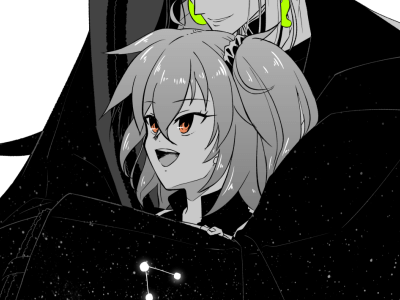 【ワンドロ】星空